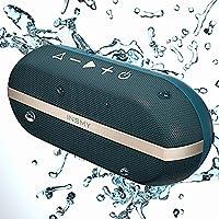 INSMY 便携式蓝牙音箱,20W 无线户外音箱,大声立体声,丰富低音,IPX7 防水,TWS 模式,24 小时播放时间,蓝牙 V5.0 ,内置麦克风,适用于户外野营皮艇C30