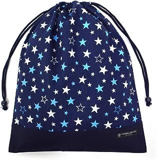 荷包·大 体操服袋 体操服装 英国星 藏青 N3367300