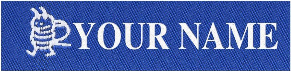 Wunderlabel 标准编织熨烫男士男孩标签名字标签缝纫艺术工艺丝带装饰标签标签 Christopher 25 BNT001_10023_ Christopher_25