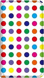 智能手机壳 手册式 对应全部机型 薄型印刷手册 cw-256top 套 手册 圆点 极薄 轻量 UV印刷 壳WN-PR130008-M Disney Mobile on SoftBank DM014SH 图案 A