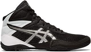 ASICS Matflex 6 男士摔跤鞋 黑色/银色 7.5