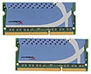 Kingston HyperX 4GB Kit 1600MHz DDR3 PC3-12800 Non-ECC CL9 XMP SODIMM Notebook Memory KHX16S9K2/4XR