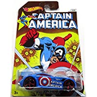 HOT WHEELS CAPTAIN AMERICA 系列蓝色SIR OUS 3/8