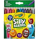 Crayola Silly Scents Twistables 迷你蜡笔,多色,15.49 x 12.44 x 1.27厘米 多种颜色 15.49 x 12.44 x 1.27 cm 52-9612