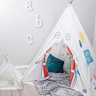 Bluenido 资生堂奢华 Sunny Day Teepee 帐篷 带地板和手提箱 47x47x59