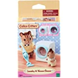 Calico Critters 洗衣和真空吸尘器