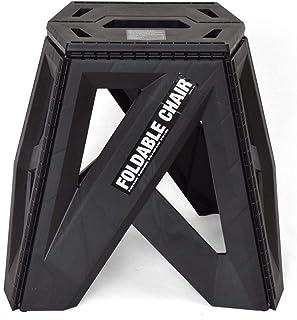 b.c.l 黑色 W座面:29 *大宽度:42.6×D座面:20 *大宽度:33×H39cm 踩踏台双层椅 折叠 户外 椅子 127703