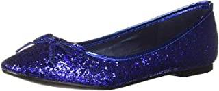 Women's Glitter Flat With Bow
