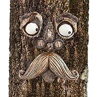 Bits and Pieces-Old Man Tree Hugger - Garden Peeker 码艺术 - 户外树形拥抱神奇树面园装饰