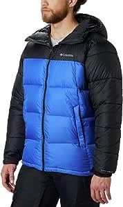 Columbia 男士 Pike Lake 连帽夹克 Azul, Black Small