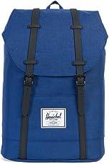 Herschel RETREAT BACKPACK 双肩包 蓝色(尺寸:14 * 41.9 * 30.5 cm) (加拿大品牌 香港直邮)(包邮包税)