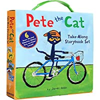 (进口原版)Pete the Cat Take-Along 6 Book Box Set: 《皮特猫六本故事合集》
