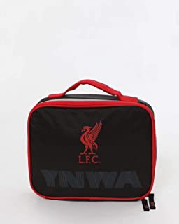 利物浦足球俱乐部正品 EPL YNWA 黑色/红色午餐袋