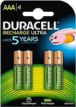 Duracell 金霸王 續充電鎳氫電池 (AAA), HR03 1,2V, 800mAh 4 件