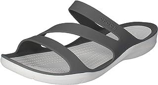 crocs 女式 swiftwater W SPORT 儿童拖鞋,黑色, Delete
