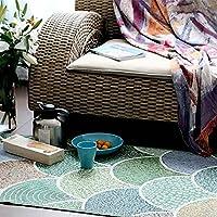 ekelund 瑞典 北欧简约时尚地垫 欧式纯棉表面防滑门厅厨房客厅垫 防滑地垫70*115cm ytor表面地垫