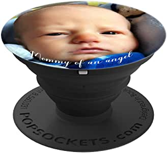 HannahOBaby 定制 IMG – PopSockets 手机和平板电脑握架260027  黑色