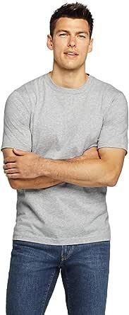 Lands' End 男式加大加长短袖超 T 恤 杂灰色 Medium