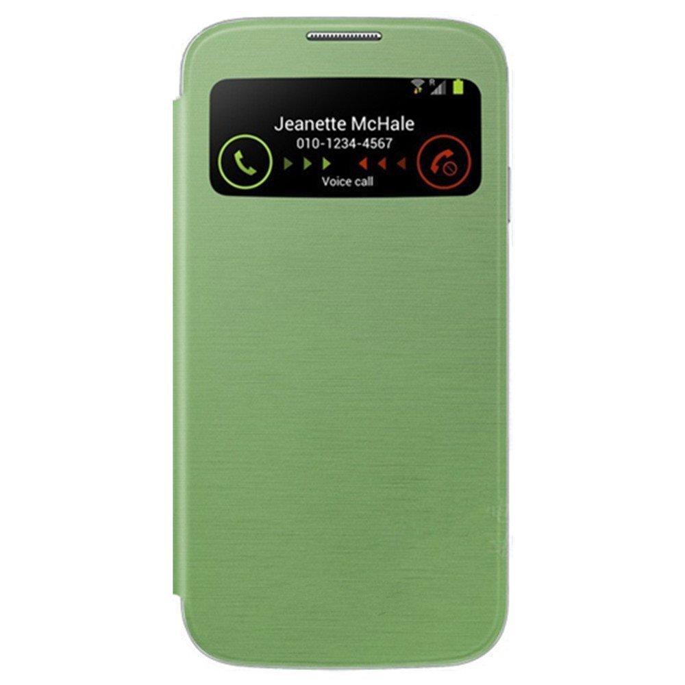 namou 三星galaxys4手机套 三星9500手机壳 s4皮套 i9500智能开屏保护
