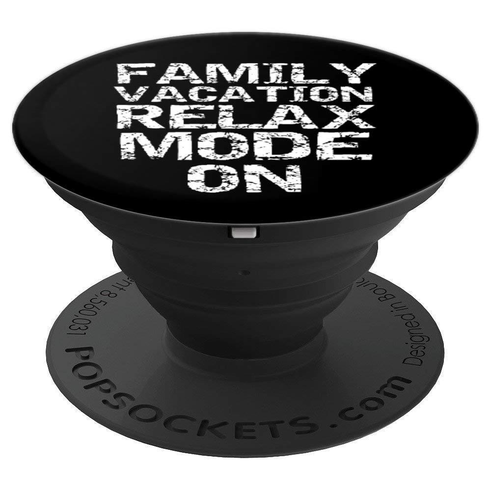 有趣之旅引言 男士酷炫家庭度假休闲模式 PopSockets 抓握和支架适用于手机和平板电脑260027  黑色