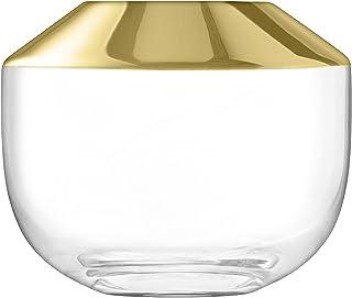 LSA International SU02 太空花瓶,金色,高15厘米