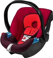 香港进口亚太版 德国CYBEX 赛百斯 儿童汽车安全提篮 Aton 伦巴红 适合0-13kg 约0-18个月 国内发货 包邮包税