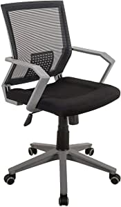 Techni Mobili Rolling Mesh 办公椅 w/手臂和轮子