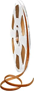 Morex 丝带 01205/10-447 尼龙丝绸缎带,铜色,0.48 厘米 x 27.9 米