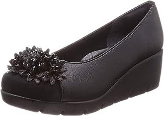 [一段舒适设计] 浅口鞋 日本制造 美腿 休闲浅口鞋 女士 厚底 IM39618