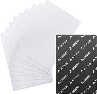 Avery Barn 10 件装磁性相框冰箱透明照片口袋套适用于冰箱、储物柜、办公柜 - 强力磁铁,易于插入,灵活,防碎 - 10.16x15.24 cm 或 12.70 x17.78 cm 白色 5 x 7 y-050-2_k16