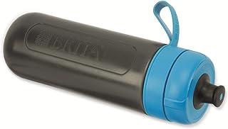 BRITA 滤水瓶聚丙烯/硅胶 LDPE 蓝色 7.5 x 7.5 x 23 厘米