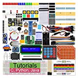 Freenove Raspberry Pi 旗舰入门套装 - 初学者学习 - 型号 3B+ 3B 2B 1B+ 1A+ Zero W - Python、C、Java,处理,57 个项目,401 页详细教程,220+ 组件