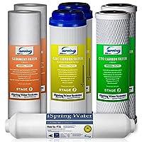 Filter Packs 5级反渗透替换装 白色 1-year Supply (No RO Membrane) 7PK-GAC