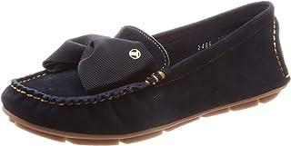 [LANVIN en Bleu] 蝴蝶结图案软皮平底鞋 2486