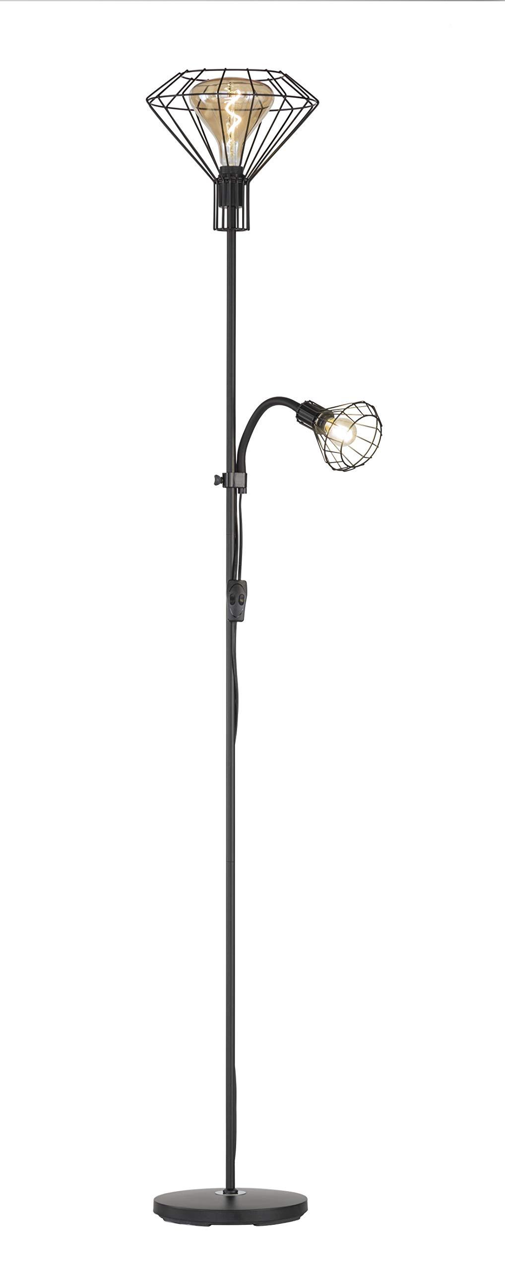 Fischer&Honsel Stev 立灯,金属,60瓦,黑色