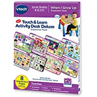 Vtech 伟易达 Touch and Learn 触摸与学习 活动桌上豪华扩展包