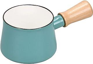 PEARL METAL 珍珠金属 牛奶锅 珐琅 红色 小巧 蓝色 HB-5067