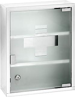 Wenko 22924100 橱柜 30 x 40 x 12 厘米 亮银色