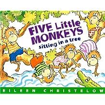 Five Little Monkeys Sitting in a Tree (A Five Little Monkeys Story) (English Edition)