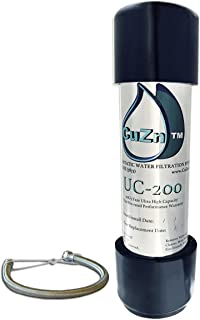 CuZn UC-200 UnderCounter 滤水器 - 50K 超高容量 - 美国制造