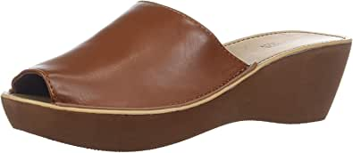 Kenneth Cole REACTION 女士 Fine Mule 防水台拖鞋 Lugguage 8 M US