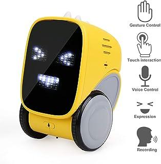 NEOWOO 智能機器人玩具,智能觸感感應互動語音控制迷你機器人,適合年齡 3、4、5、6、舞蹈、唱歌、錄音機