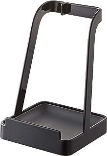 Yamazaki Home 长柄勺支架-锅盖支架 2249 Tower 厨房器皿,黑色