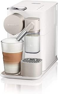 DeLonghi 全自動膠囊咖啡機 美式意式一鍵花式家用咖啡機 EN500.W 白色