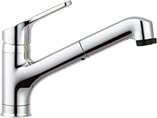 LIXIL 骊住 INAX 厨房用 单孔单把手混合水龙头 附手持喷头 节水把手 RSF-833Y