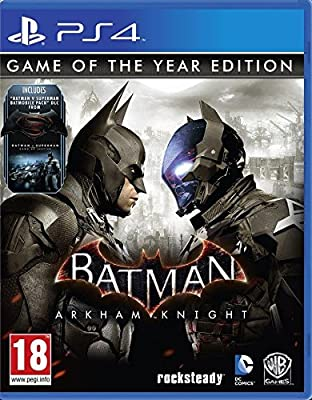 Batman Arkham Knight (PS4) [Game of the Year GOTY Edition] [Special Steel-Book Case]