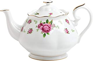 Royal Albert Fine Bone China Rose Teapot