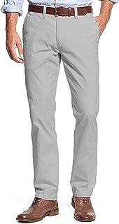 TOMMY HILFIGER 男式量身定制修身斜纹裤 Griffin 36W x 30L