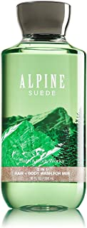 Bath and Body Works Alpine Suede 2 in 1 Men's Hair + Body Wash 10 Oz