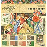 """Graphic 45 Collection Pack 12""""X12""""-Little Women"""